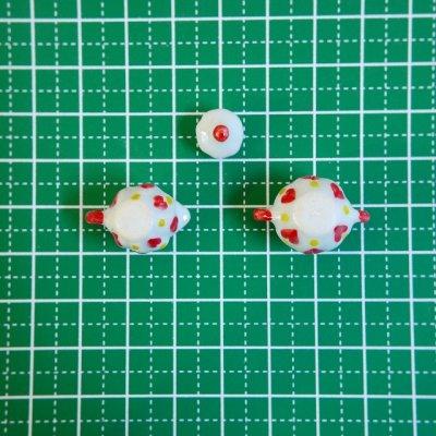 画像4: 陶器製 ミルクピッチャー/シュガーポット