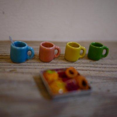 画像1: カラーマグカップ(L)