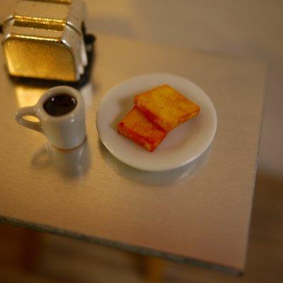 画像1: トースト