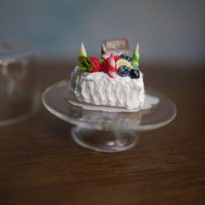 画像2: バースデーケーキ(フルーツハート)