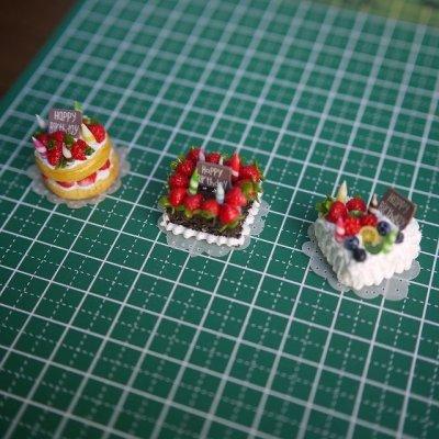 画像4: バースデーケーキ(フルーツハート)
