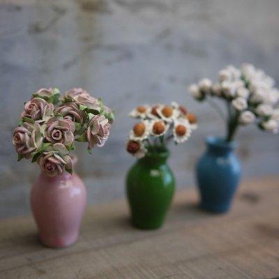画像2: 花瓶(3色つぼ型L)