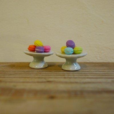 画像2: 陶器ケーキスタンド