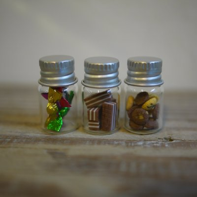 画像1: アルミねじ蓋瓶