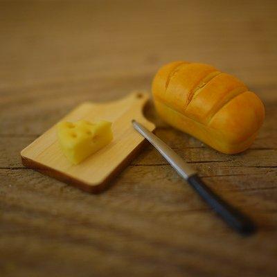 画像1: 木製チーズボード(まな板、カッティングボード)