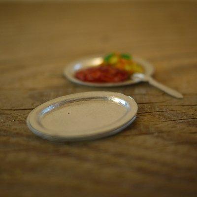 画像2: アルミオーバル皿