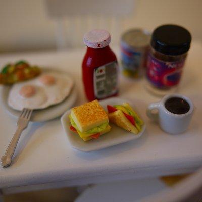 画像1: 三角サンドイッチ