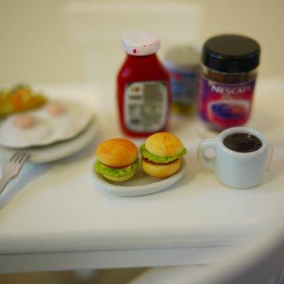 画像1: ハンバーガー