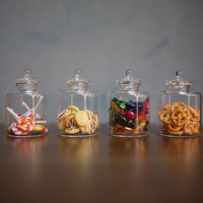 画像1: ガラスキャンディーボトル(XXL)
