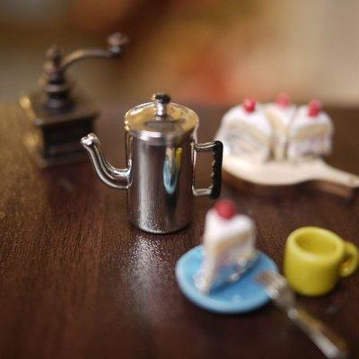 画像2: メタルコーヒーポット