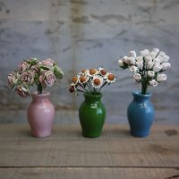 花瓶(5色つぼ型L)