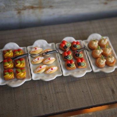 画像1: 菓子パン デニッシュ 4種