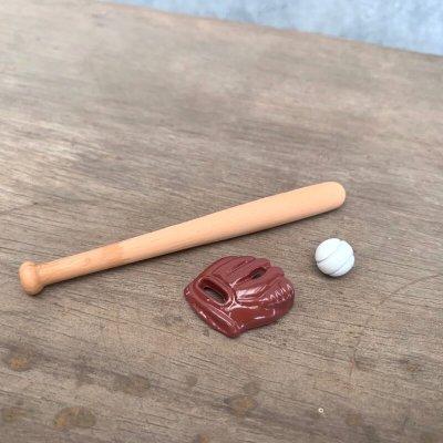 画像2: ミニチュア ベースボールセット 野球