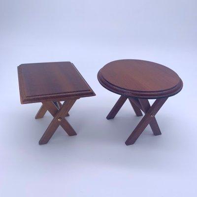 画像1: 折り畳みテーブル