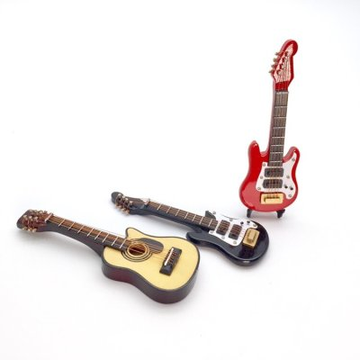 画像2: ミニチュア ギター(エレキ、クラシック)