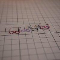 レンズ入りミニ眼鏡 (メガネ めがね)
