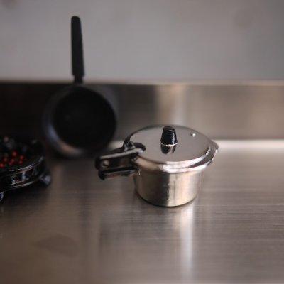 画像1: メタル圧力鍋ふう片手鍋