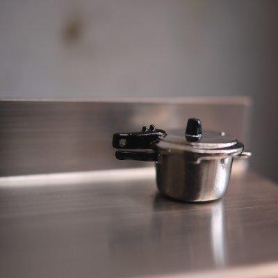 画像2: メタル圧力鍋ふう片手鍋