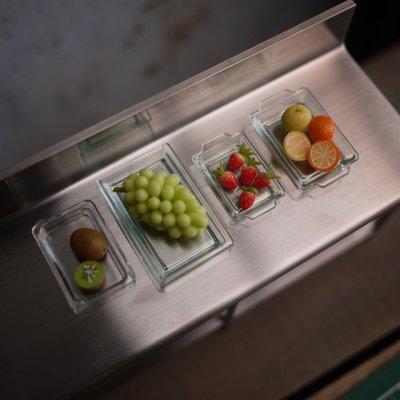 画像2: (ネット限定)クリアキッチンバット・トレイ4点セット