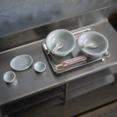 画像1: 中華料理屋さんの食器セット