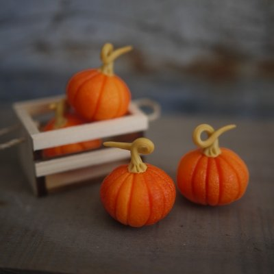 画像1: かぼちゃL ハロウィンカラー 西洋カボチャ 南瓜