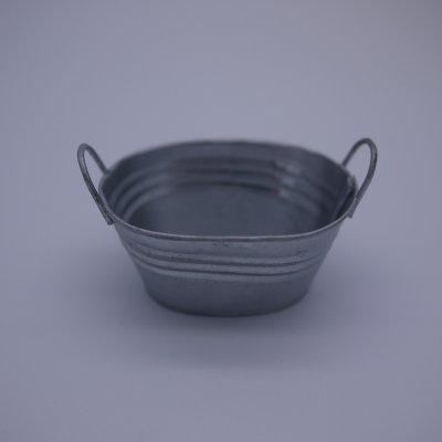 画像2: ブリキ楕円バケツ