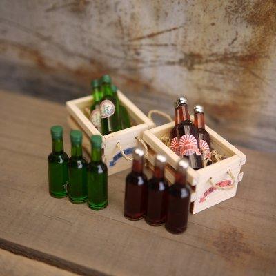 画像1: ラベルなし ドリンク瓶 (ビン)