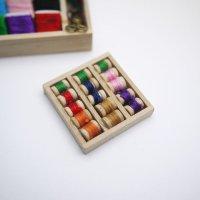 木箱入り糸巻きセット