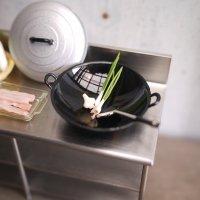 ふた付き中華鍋セット