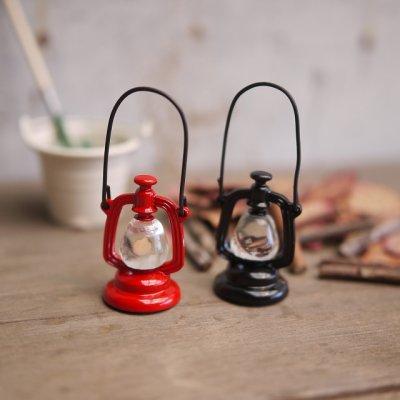 画像1: 手提げランタン ランプ