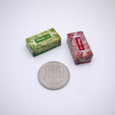 画像3: ミニチュアティッシュボックス(箱のみ)