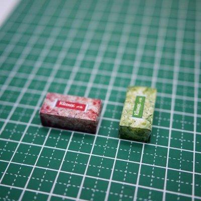 画像5: ミニチュアティッシュボックス(箱のみ)