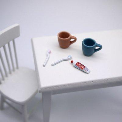 画像2: カップが選べる♡ペア歯磨きセット(ネット限定)